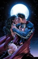 THE NEW POWER COUPLE OF DC COMICS by komodovis