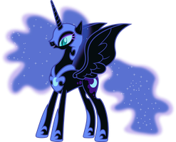 Happy Nightmare Moon by 90Sigma