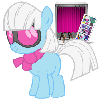 Photo Booth Pony Icon by colorized-happily