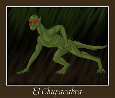Mythical Creatures-Chupacabra by BlueEyesBlackTears