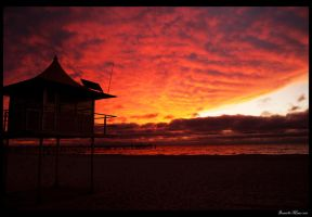 Glenelg Sunset by DanielleMiner