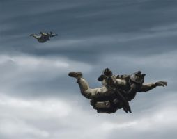 HALO Jump by aaronprovost