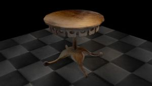 Gothic Table by vile72