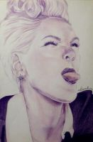 P!nk A/4 pencils by turanneth