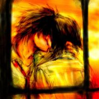 evening kiss..the secret of us by Usa-Usa