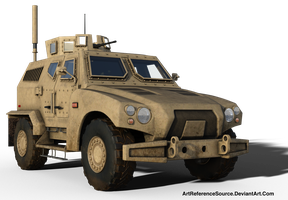 Free Stock PNG:  Army Hybid Vehicle by ArtReferenceSource