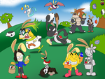 Super Smash Bros: Easter Edition (closed) by That-One-Leo