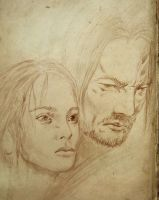 Sansa Stark and Sandor Clegane by vincha