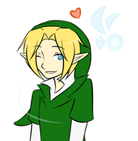 Link and Navi - Note to Watchers by Ask-Link