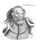 Dungeons and Dragons Character: Karsis The Dwarf by LostonWallace