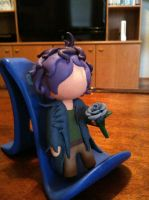 Chibi Garry figure by Invader-Mika7