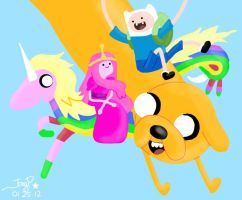 Request: Adventure Time Fan Art by heeyjayp17