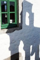 Window and bell shadow - Patmos by wildplaces