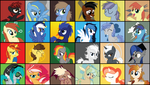 Christmas Vector Gift - Best of Equestria by MysteriousKaos
