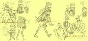 moar superjail doodles by xTangerineS