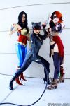 DC Comics video game girls by yayacosplay