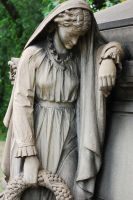 Statue in mourning 4 by MLeighS
