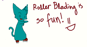 Roller Blading by Joava