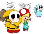He's Such a Shy Guy... by Rotommowtom