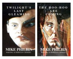 cover art for 2 new novels by mike1966