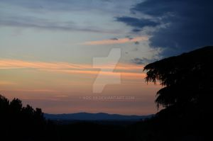 Sky from Debod by AOC-08