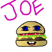 Joe, My cheesburger lover by mellzmew