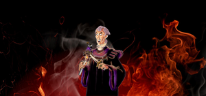 Dem Coloring Pages - Frollo (2) by yami0815