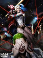 Harley Quinn 2016 by MeTaa