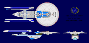 NCC 2254001 USS Unity by highwindwarrior1988