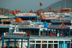 Vietnam Ferry boats by logic0