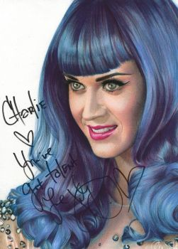 Katy Perry - Signed by Charlzton