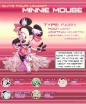 Disney Region: Elite Four Minnie Mouse by Elera