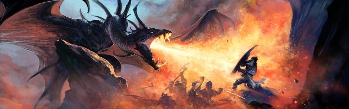 Dragon's Fury by BenWootten