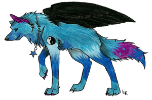 lets fly Eclipze .:ART TRADE:. by RedSoulWolf13