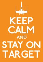 Keep Calm and Stay On Target by ERRRskate151