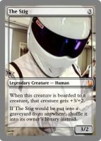 The Stig by theUNDEADSHARK