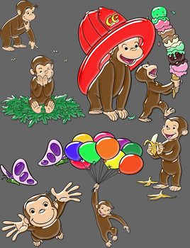 Curious George by brit622