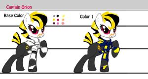 Character Sheet: Captain Orion by alorix