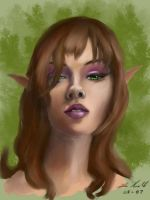 Fantasy Portrait by digistyle