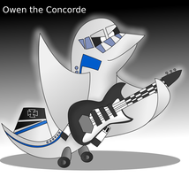 Owen the concorde(request from trainmaster185) by Windows7StarterFan