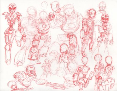 Afterman - Champion Sketches by HJTHX1138