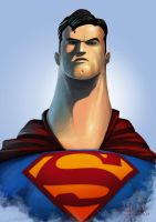 Man of Steel by saadirfan