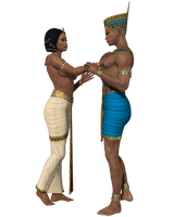 Egyptian Couple 2-Scrap by shd-stock