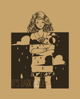 it's dark inside by Mokonochan