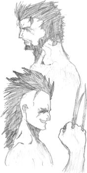 Wolverine and Daken by superfly72
