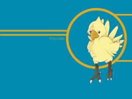 Chocobo blue by spoon-kn