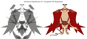 Alchemy: Grognak The Barbarian by cheeseycom