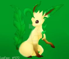 Leafeon by MewMewItems