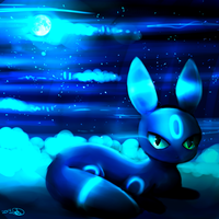 Pokedex Challenge #2: Moonlight Shadow by WendySakana