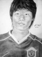 Ji Sung Park- Soccer Player by pikels2